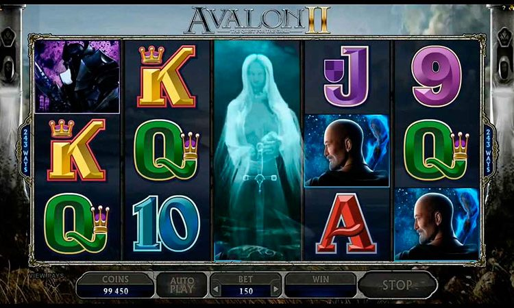 Королевский слот «Авалон» — играем и выигрываем!